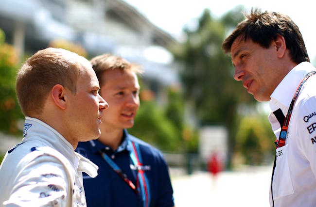 Wolff steps aside from Bottas' management group