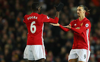 Ibrahimovic, Pogba and De Gea - Neville says United stars capable of playing in treble-winning team
