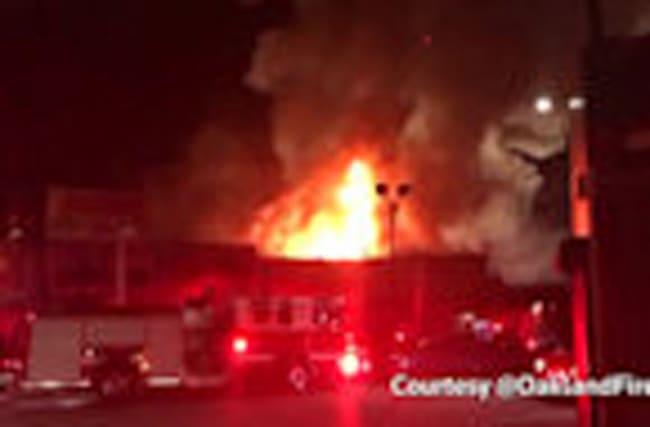 At least nine dead in California warehouse fire