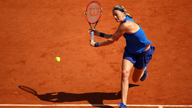 Kvitova enters French Open draw