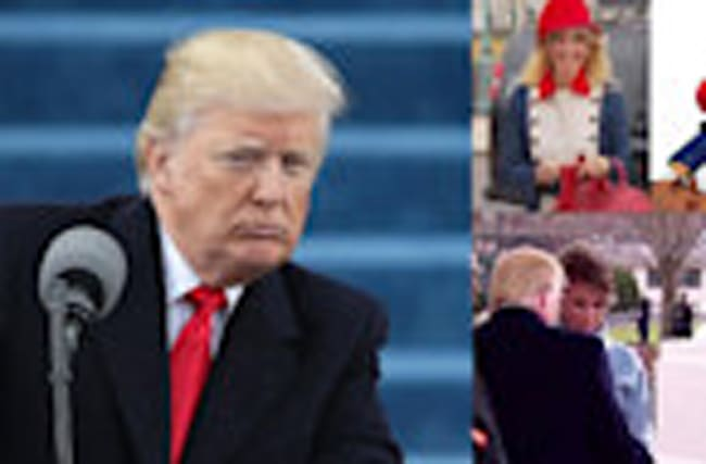 FUNNIEST Memes & Awkward Moments From Donald Trump's Inauguration Ceremony
