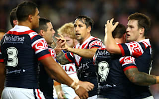 Roosters halves shine again to sink Bulldogs