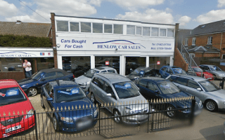 Car dealership attacked by axe-wielding customer