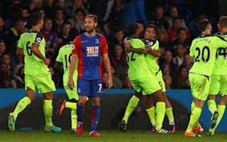 Crystal Palace 2 Liverpool 4: Reds keep pace at the top in thriller