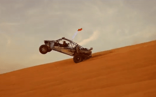 Watch 800bhp buggies shred Dubai's sand dunes