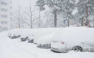 Record snow falls in Stockholm
