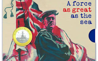 Royal Mint issues special £2 coin to honour Royal Navy's role in WWI