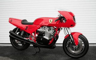 Is Ferrari adding a motorcycle to its line-up?