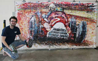 Live video: The fastest painting in the world