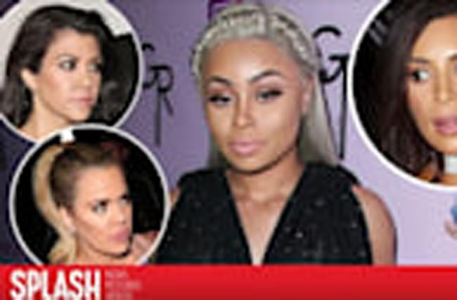 "Blac Chyna Wants to be a ""Kardashian"" - the Sisters Say No"