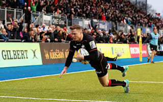 Ashton scores on Saracens return but Wasps draw level at the top