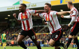 Norwich City 0 Sunderland 3: Borini, Defoe and Watmore secure huge survival boost