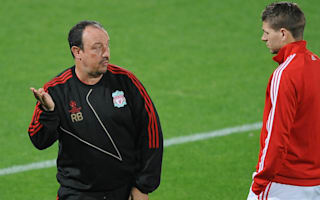 Benitez happy to help Gerrard with coaching role