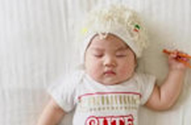 This Mom Dresses Her Napping Baby in Costumes