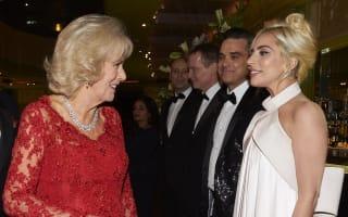 Duchess of Cornwall tells Lady Gaga 'my grandchildren call me Gaga'