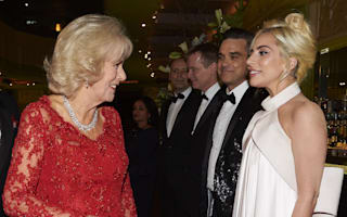 Duchess of Cornwall tells Lady Gaga 'my grandchildren call me Gaga'