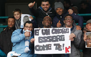 Napoli fans show support for Koulibaly