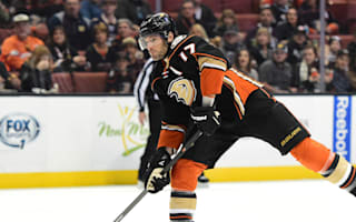 Kesler seals Ducks win over Red Wings, Panthers smash Lightning