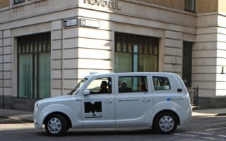 New range-extender hybrid taxi for London unveiled