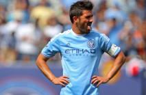 David Villa sent off after video replay