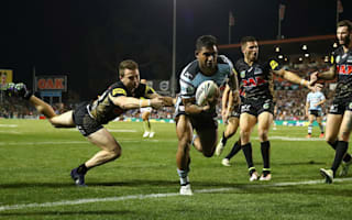 Lucky 13 for NRL leaders Sharks in Penrith