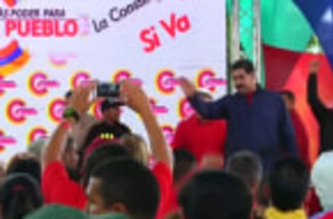 Venezuela's Maduro lashes out at Trump amid protests