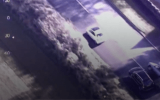 Helicopter footage captures dangerous Somerset police chase