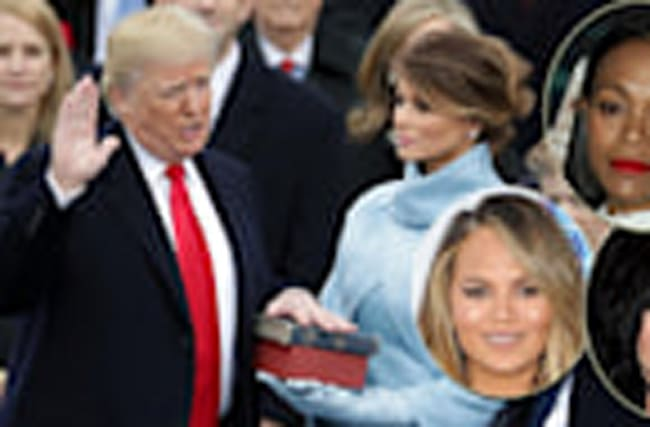 Celebs React To Donald Trump's Inauguration