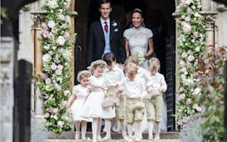 Kate forced to 'ssh' young pageboys and bridesmaids at sister Pippa's wedding
