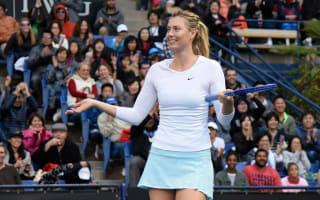 Sharapova to play tournament with McEnroe, Navratilova and Roddick