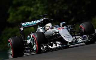 Hamilton playing catch-up after FP2 crash