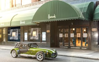 Caterham launches Signature range with Harrods collaboration