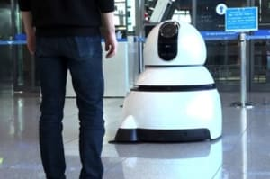 LG Airport Guide Robot & Airport Cleaning Robot