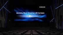 Samsung estrena la primera pantalla de cine LED del mundo