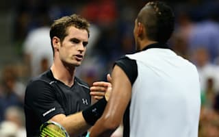 Pros must give their best, Murray urges Kyrgios