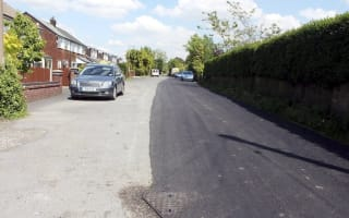 Residents furious as contractors resurface half a road