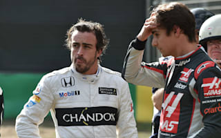 Alonso reveals Bahrain absence due to fractured ribs