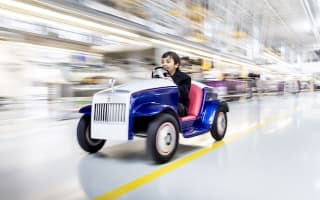 Rolls-Royce creates one-off electric car for children's hospital