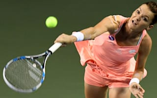 Radwanska beats Puig to set up Wozniacki semi-final, Muguruza out