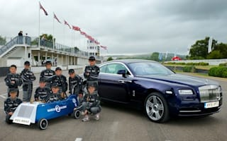 Rolls-Royce creates electric racer