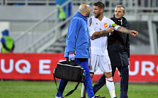 Worry over Ramos as Spain doctor confirms ligament damage