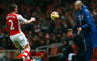 We say hello, nothing more - Debuchy admits frosty Wenger relationship