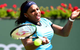 Serena wins through in Miami