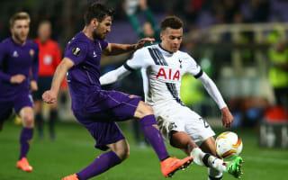 Fiorentina 1 Tottenham 1: Bernardeschi strike pegs back Premier League side