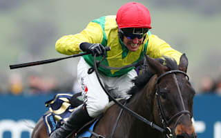 Sizing John wins Gold Cup as Cue Card falls again