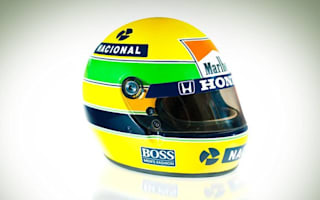 Ayrton Senna's race helmet sells for £71,000