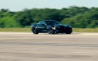All-electric Corvette breaks EV land speed record