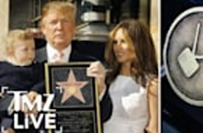 DONALD TRUMP: Hollywood Star DESTROYED! (TMZ Live)