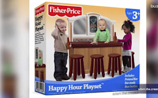 Fisher Price forced to deny 'Happy Hour Playset' is real