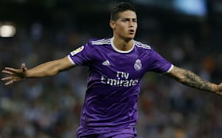 Espanyol 0 Real Madrid 2: James steps up as Ronaldo and Bale sit out